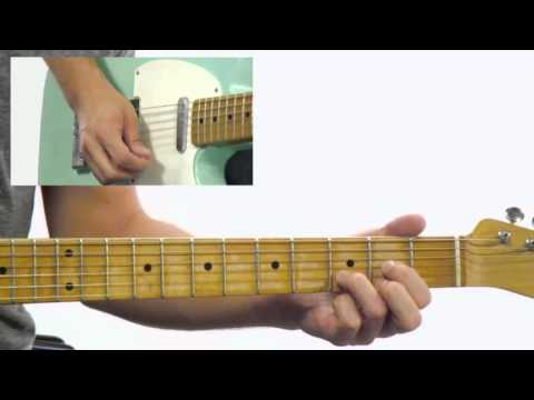 50 Blues Rhythms – 41 – Guitar Lesson – Corey Congilio