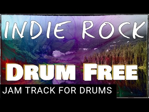 Drumless Backing Track Indie Rock 132 BPM