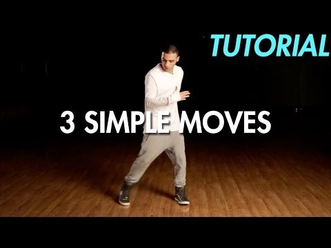 3 Simple Dance Moves for Beginners Hip Hop Dance Moves Tutorial | Mihran Kirakosian