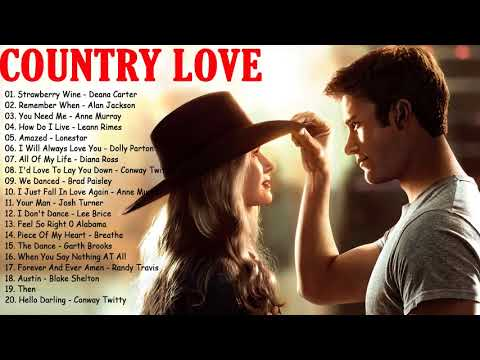 Best Romantic Country Songs Of All Time – Greatest Old Classic Country Love Songs Collection