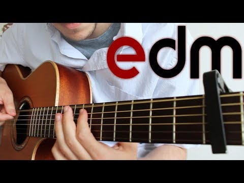 Electronic Dance Music on Guitar 6 Songs | FINGERSTYLE