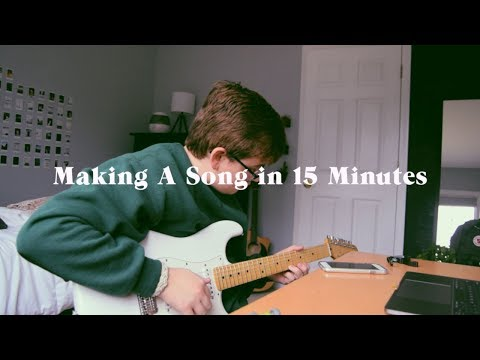 Making an Indie Rock Song in 15 Minutes again…lol
