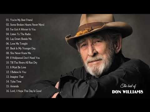 Don Williams – Best Of Songs Don Williams | Don Williams Greatest Hits [Full Album] HD