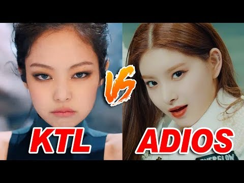 KPOP SONGS SIMILAR TO OTHER SONGS