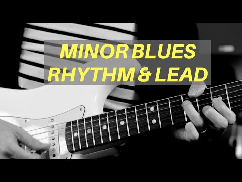 How to Mix Rhythm Lead on a Minor Blues | Guitar Lesson