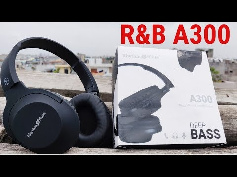 Rhythm and Blues A300 Wired Headphones Unboxing Review – RB A300