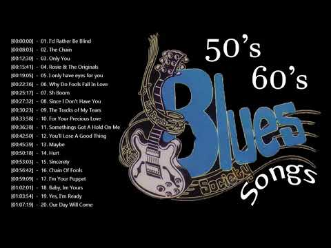 50s 60s RB Music Hits Playlist ♫ Greatest 1950's 1960's Rhythm and Blues Songs