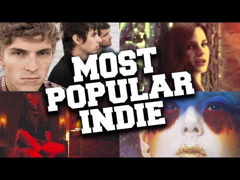 Top 50 Most Popular Indie Songs of All Time Updated in March 2020