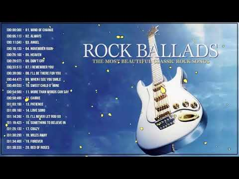 Best Rock Ballads 70's 80's 90's – The Greatest Rock Ballads Of All Time