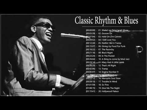 Classic Rhythm Blues Songs ♪ Greatest Blues Songs Of All Time