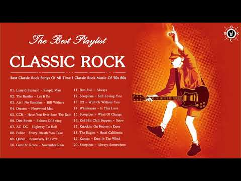 Classic Rock Playlist 70s and 80s | Best Classic Rock Songs Of All Time | Classic Rock Music