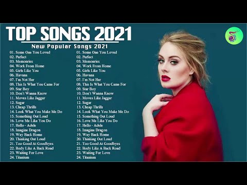 Maroon 5, Ed Sheeran, Taylor Swift, Adele, Ariana Grande 💗 Best Pop Music Playlist 2021 🆗