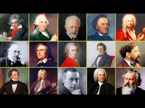 100 Most Beautiful Classical Music 8h30 of Mozart, Chopin, Vivaldi, Liszt, Satie…