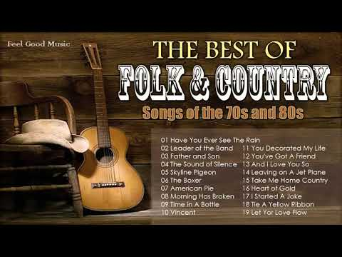 BEST OF 70s FOLK ROCK AND COUNTRY MUSIC Kenny Rogers, Elton John, Bee Gees, John Denver, Don Mclean