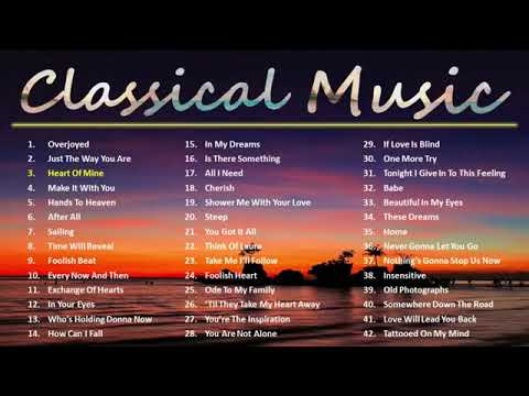 Classic Music | Old Songs | Sentimental Love Songs – 1