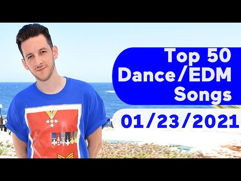US Top 50 DanceElectronicEDM Songs January 23, 2021