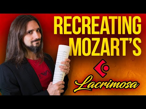 How to Orchestrate Classical music in a DAW- Recreating Mozart's Lacrimosa mozart cubase