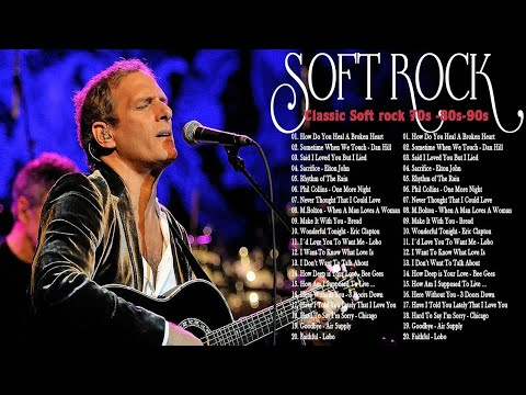 Best Soft Rock Songs Of The 70s 80s 90s-Air supply,Rod Stewart,Bee Gees,Lobo,Phil Colins, Elton John
