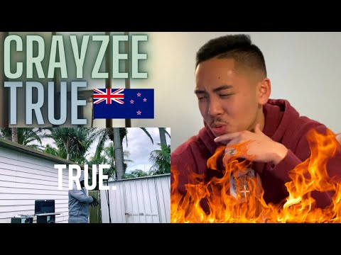 Crayzee – TRUE Prod. By Facade AMERICAN REACTION New Zealand Drill Rap Music 🇳🇿🔥 HARD