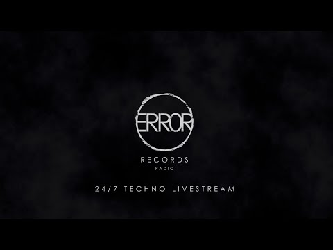 ERROR Records Radio | 247 German Techno Music Livestream