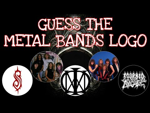 Guess the Metal Bands Logo | Ultimate Heavy Metal Music Quiz Trivia | Guess the Logo Challenge 2021