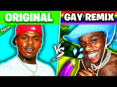 POPULAR RAP SONGS vs GAY VERSIONS 2021