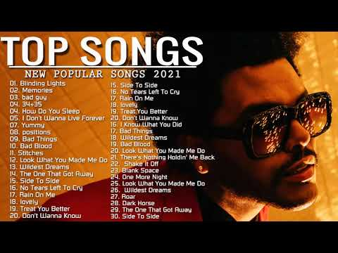 Pop Music 20212021 New Song – Pop Hits 2021 New Popular Songs – Best English Song 2021