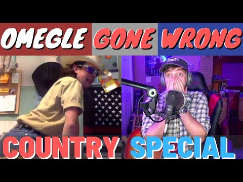 Singing On Omegle GONE HORRIBLY WRONG Country Music Reactions