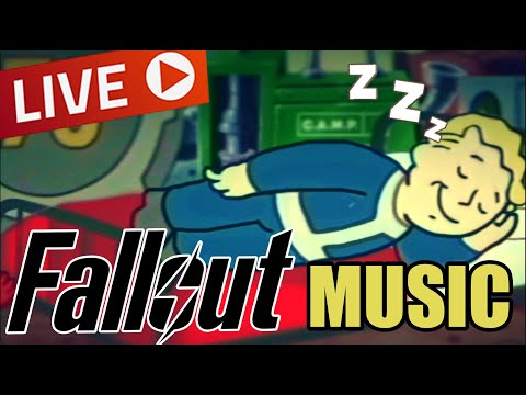 Fallout Radio – Oldies music playing in another room and it's raining – relaxchillstudysleeping