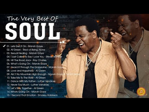 70's Soul – Al Green, Marvin Gaye, Smokey Robinson, Stevie Wonder, Tower Of Power and more