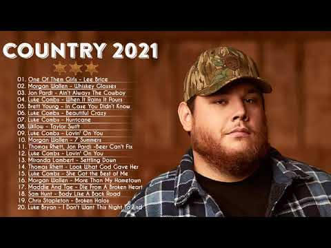 NEW Country Music Playlist 2021 Top 100 Country Songs 2021