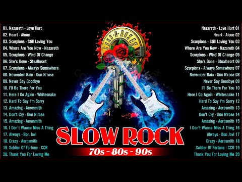 💗 Nonstop Slow Rock Love Songs Collection – 70s 80s 90s Slow Rock Love Songs 💖