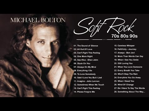 Rod Stewart, Phil Collins, Scorpions, Air Supply, Bee Gees, Lobo – Soft Rock Songs 70s 80s 90s Ever