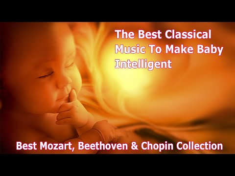 🎵The Best of Classical Music to Make Baby Kick, intelligent 🧠 Brain Development 👶🏻 Inside The Womb 🎵