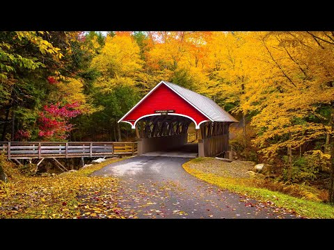 """Beautiful Relaxing Music, Peaceful Soothing Instrumental Music, """"Autumn in New England"""" by Tim Janis"""