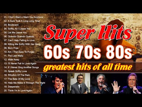 Best Oldies Songs Of 1980s – 80s Greatest Hits 🍄 The Best Oldies Song Ever🍄 Andy Williams,Paul Anka