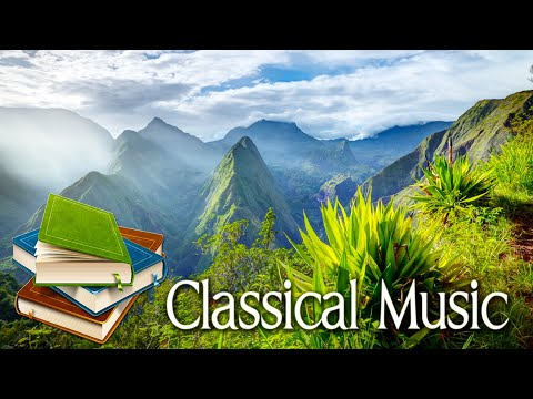 Classical music for studying 🌿 Classical piano music for concentration 🌿 Stress relief the office