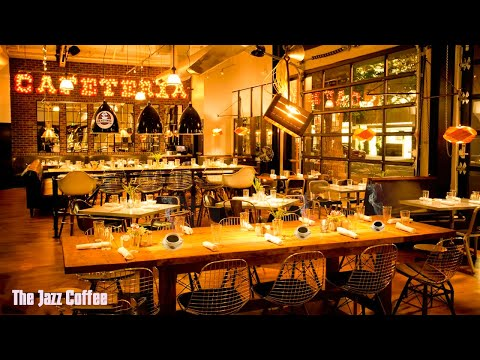Smooth jazz coffee Cafe space background music, relaxing background music for studying and working